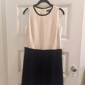 Ralph Lauren Dress | Black & White Shift 8P